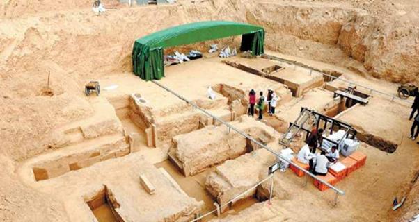 洛陽發現西漢時期大墓 出土多件珍貴...