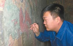 """""""匠三代""""李曉洋:""""修復壁畫是件挺美的事"""""""
