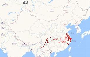 早期佛教造像也在中印度至长江流域传播