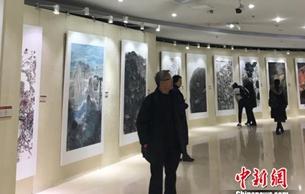 """湖北省中国画作品展:127幅画作""""写意长江"""""""