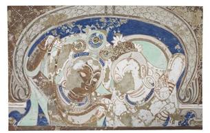 丝路怀古:古龟兹壁画摹制特展亮相韩国首尔