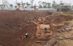 自贡发现古墓葬 与川南五金城宋古墓相距2、3公里
