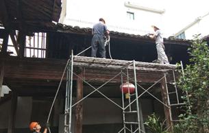 松陽縣2018年度掛牌古建筑修繕項目完成