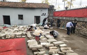 浙江建德梅城镇古牌坊及石构件考古调查结束