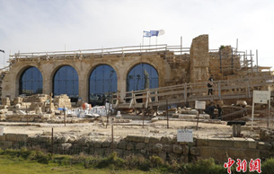 以色列小镇发掘出24枚稀有古币 穿越千年