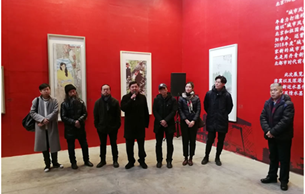 2018朝阳城市风情画展举行 描绘改革开放新风貌