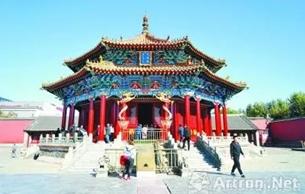 沈阳故宫建筑彩画修复 大政殿重现往昔神韵