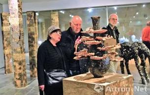 """""""中国非遗--铜雕艺术展""""在柏林开幕"""