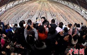 秦始皇帝陵博物院2018年接待游客達858萬余人次