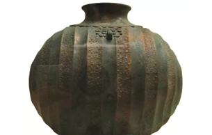 马家塬遗址青铜茧形壶赏析