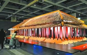 武汉盘龙城遗址博物院新馆试运行开放