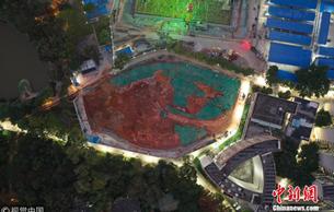 中山大学食堂施工现场挖掘出古墓 初步判断为汉墓