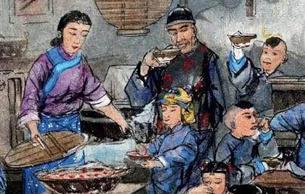 年俗畫里的老北京年俗
