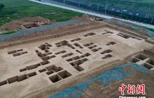 陕西咸阳发掘秦墓75座 发现中西交流特色琉璃珠