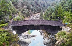 """最早最孤獨的廊橋""""三條橋"""" 神似《清明上河圖》里的虹橋"""