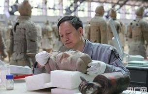 陜西領跑陶質文物保護粘接技術