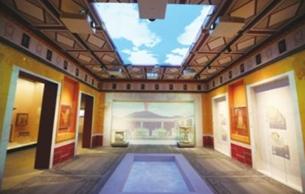 武漢:龐貝古城出土文物在盤龍城展出