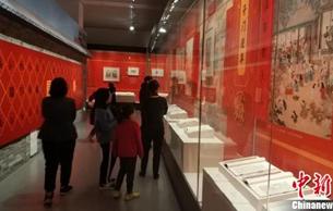 """河北衡水""""迎春送福""""武强年画专题展首次在国家图书馆举办"""