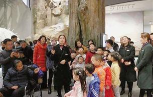 浙江自然博物院安吉馆春节长假接待近10万人次