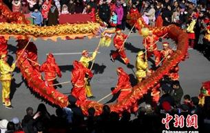 """甘肅敦煌傳統民俗扎堆""""春節檔期"""" 促非遺保護傳承"""
