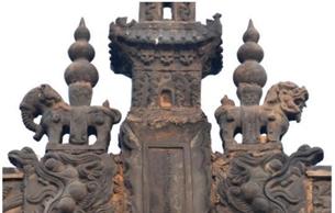 山西汾阳金代太符观新发现多处纪年信息和文物