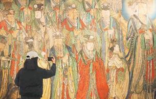 """流失海外壁画""""再现""""北京"""