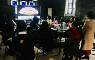 广东民间工艺利来国际娱乐举行《外销扇的故事》综合实践课教师培训