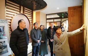杭州市园林文物局对区县市文物工作开展调研