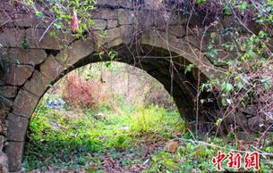 永州发现两座距今400多年的明代石拱桥