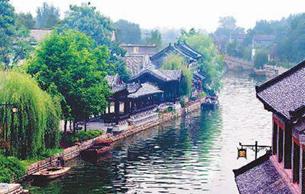 風姿綽約南陽鎮 活的運河博物館