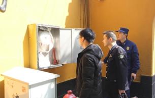 舟山市對普陀山文保單位開展安全巡查工作