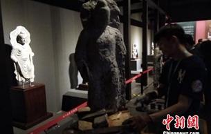 """百余件""""丝路""""文物亮相 陕西历史博物馆力邀美院师生观展临摹"""