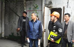 浙江省文物局安全与督察处检查嵊州文物消防安全工作