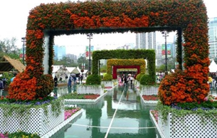 中国茶叶博物馆代表杭州参加2019香港花卉展览
