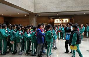 杭州博物馆迎来2019年学生春游季